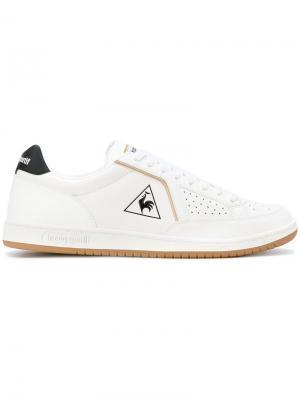 Кеды на шнуровке Le Coq Sportif. Цвет: белый