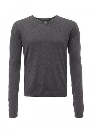 Пуловер Fresh. Цвет: серый