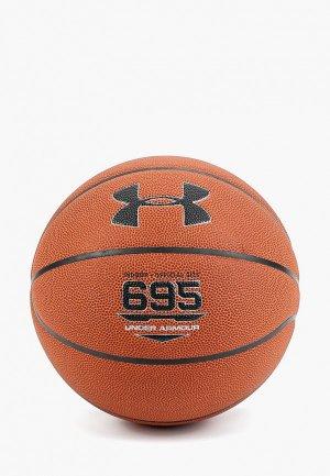 Мяч баскетбольный Under Armour. Цвет: коричневый