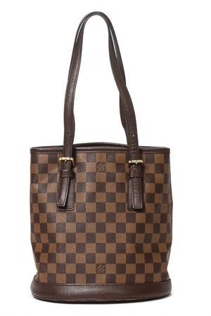 Bag LOUIS VUITTON VINTAGE. Цвет: коричневый
