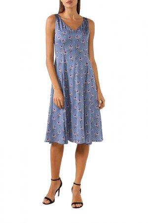 Платье BELUCCI. Цвет: голубой