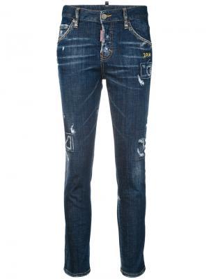 Cool girl jeans Dsquared2. Цвет: синий