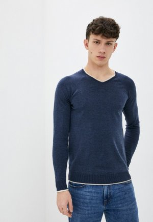 Пуловер Bakers Baker's. Цвет: синий