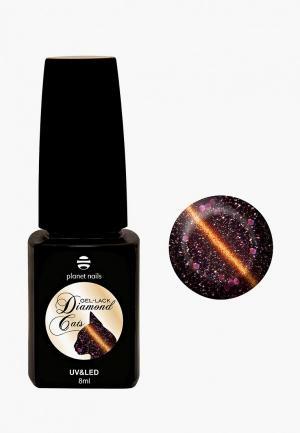 Гель-лак для ногтей Planet Nails. Цвет: коричневый