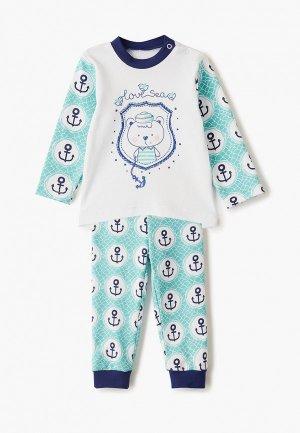 Пижама КотМарКот. Цвет: бирюзовый