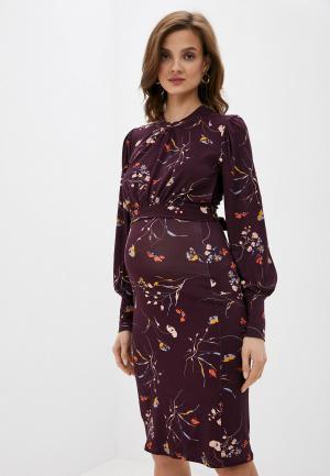 Платье Envie de Fraise. Цвет: фиолетовый