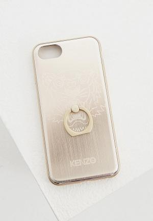 Чехол для iPhone Kenzo. Цвет: золотой