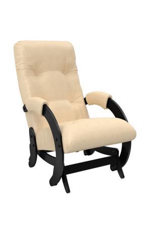 Кресло-качалка глайдер КОМФОРТ. Цвет: черный