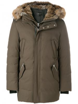 Пальто Edward Mackage. Цвет: зелёный