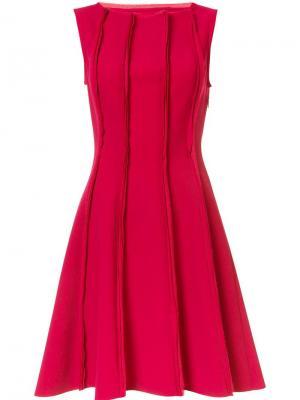 Расклешенное платье Jason Wu. Цвет: красный