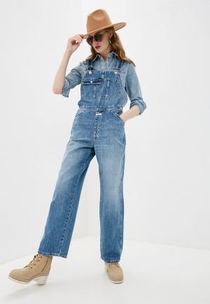 Комбинезон джинсовый Closed. Цвет: голубой