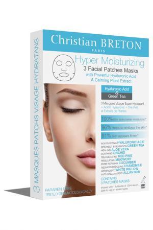 Супер увлажняющая маска CHRISTIAN BRETON PARIS. Цвет: белый