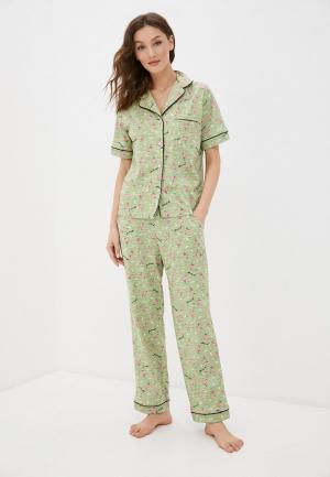 Пижама Rene Santi. Цвет: зеленый