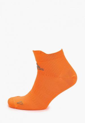 Носки adidas. Цвет: оранжевый