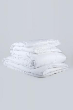 Одеяло пух в тике, 200х210 CLASSIC BY T. Цвет: белый