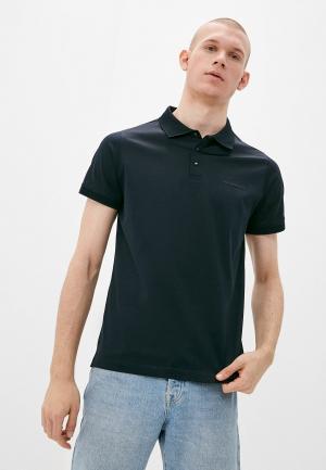 Поло Karl Lagerfeld. Цвет: синий