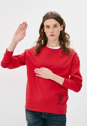 Свитшот Armani Exchange. Цвет: красный