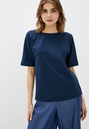Блуза Imperial. Цвет: синий