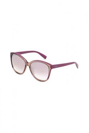 Солнцезащитные очки FURLA. Цвет: розовый