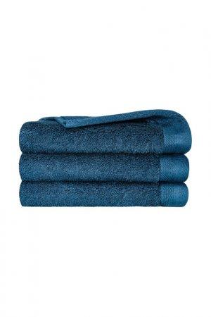 Набор салфеток 3 предмета Togas. Цвет: глубокий синий