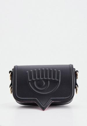 Сумка Chiara Ferragni Collection. Цвет: черный