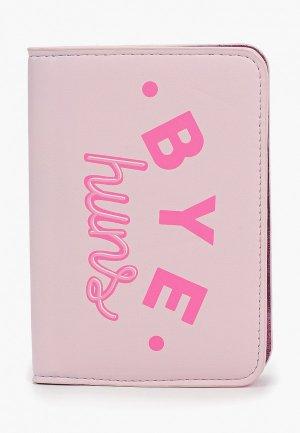 Обложка для паспорта Skinnydip. Цвет: розовый