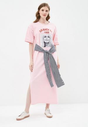 Платье Brigitte Bardot. Цвет: розовый