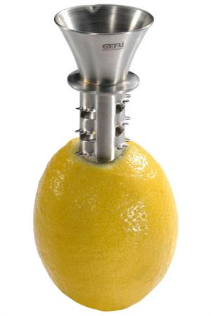 Соковыжималка для лимона GEFU. Цвет: металлический