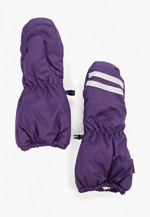 Варежки Huppa. Цвет: фиолетовый