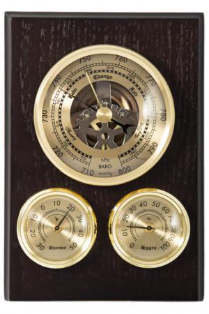 Метеостанция Русские подарки. Цвет: коричневый