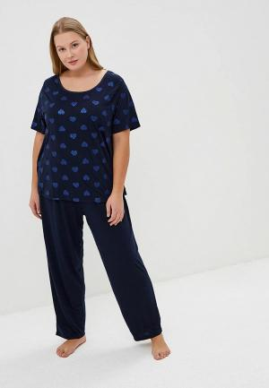Пижама Evans. Цвет: синий