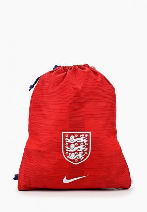 Мешок Nike. Цвет: красный