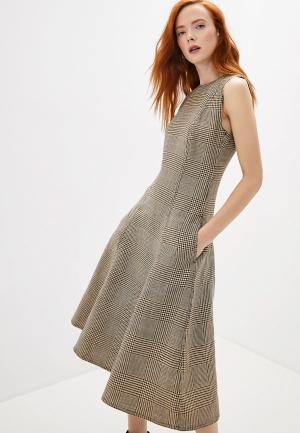 Платье Polo Ralph Lauren. Цвет: бежевый