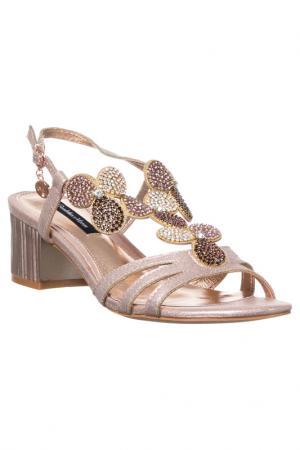High heels sandals GIANMARCO VENTURI. Цвет: pink