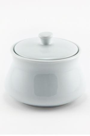 Сахарница с крышкой Royal Porcelain. Цвет: белый