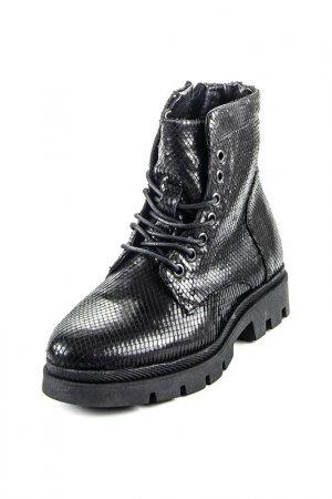 Ботинки MJUS. Цвет: черный