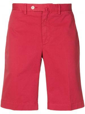 Chino shorts Hackett. Цвет: красный