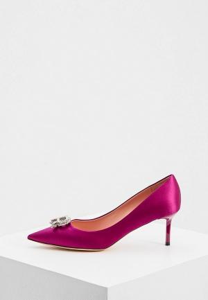 Туфли Rochas. Цвет: фиолетовый
