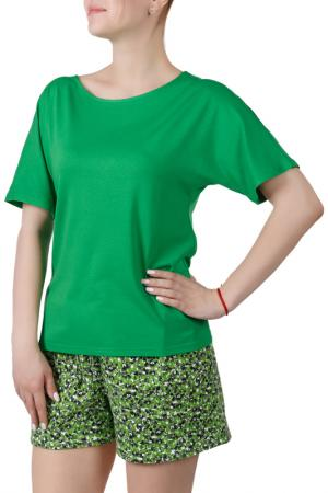 Пижамный комплект Sonett. Цвет: зеленый