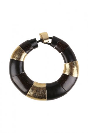 Ожерелье MONIES. Цвет: черный