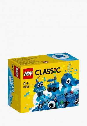 Конструктор LEGO. Цвет: синий