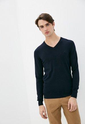 Пуловер Old Seams. Цвет: синий
