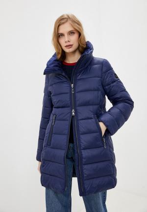 Куртка утепленная Gerry Weber. Цвет: синий