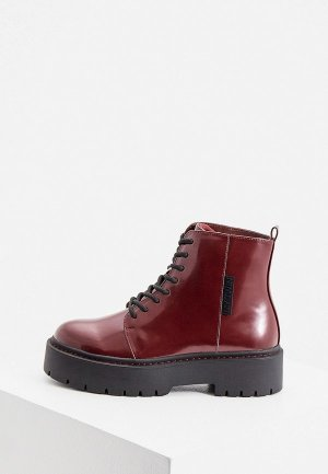 Ботинки Twinset Milano. Цвет: бордовый