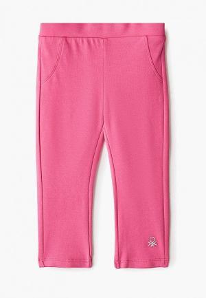 Леггинсы United Colors of Benetton. Цвет: розовый