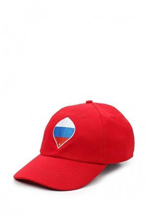 Бейсболка FIFA Confederations Cup Russia 2017. Цвет: красный
