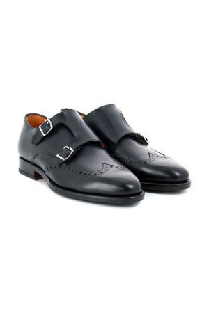 Туфли PELLETTIERI DI PARMA. Цвет: черный