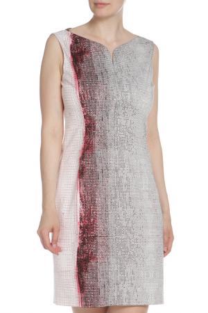 Платье Elie Tahari. Цвет: двухцветный