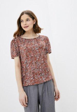 Блуза Baon. Цвет: коричневый