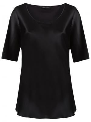 Scoop neck blouse Gloria Coelho. Цвет: чёрный